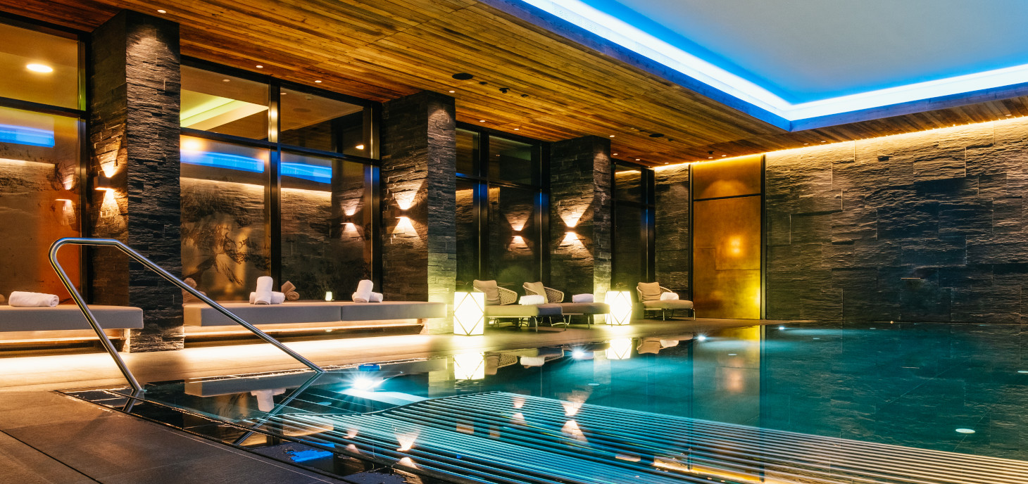 Wellness and Spa area of Severin*s – The Alpine Retreat