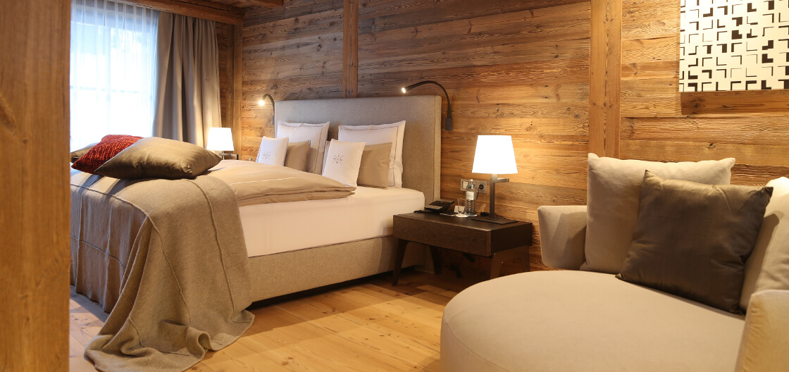 Bedroom of Severin*s – The Alpine Retreat Senior Suite