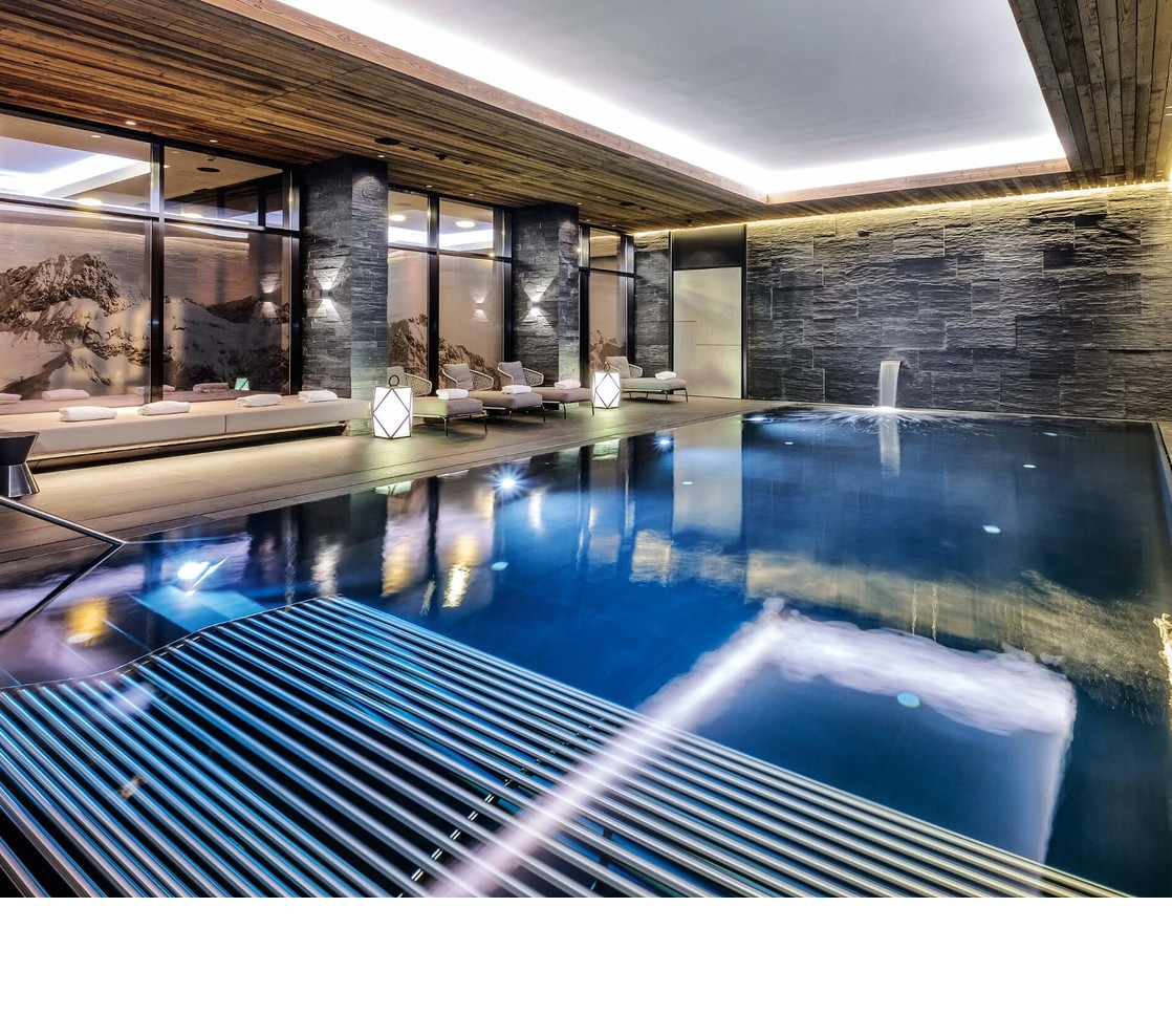 Schwimmbad im Severins Hotel in Lech